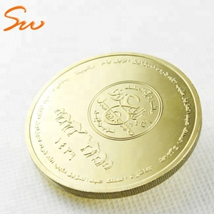 China Manufacture Custom Challenge Coin Gold Metal Coin Souvenir Coin