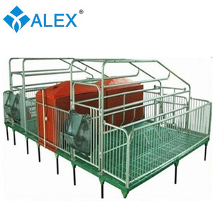 2017 new product pig farm farrowing crate sow farrowing bed pig farm equipment