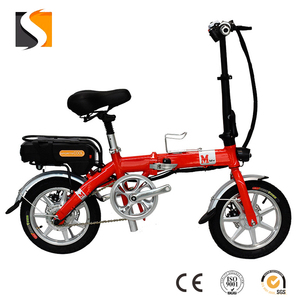 Foldable bicycle electric vehicle lithium bike adult men and women walking driving on behalf of 36V lithium battery
