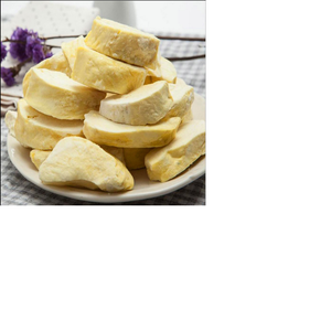 Hot Sale Freeze dry fruits chips durian product Freeze-dried durian from Gansu