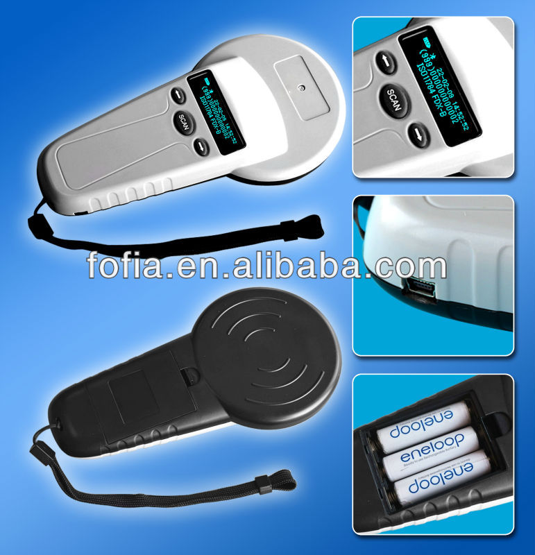 Good quality Animal pet microchip tag scanner