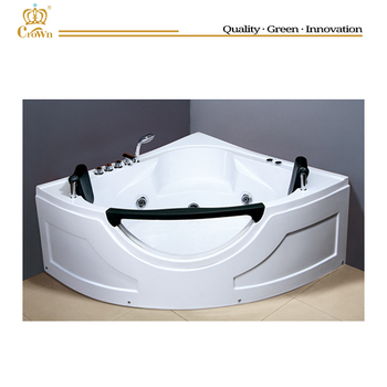 red luxury large massage bathtub with water jets hg-8809 red - buy