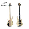 Conjoined electric bass guitar 5strings custom bass guitar(L-B45-T5)