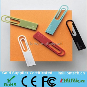 fancy shape Mini 32gb usb memory stick,paper clip usb flash drive ,super thin usb flash disk