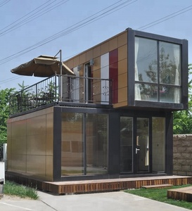 Customized Steel Structure Frame Modern Container House Prefab Houses