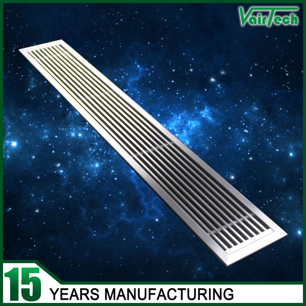 High Quality Linear Bar Air Grille Stainless Steel Air