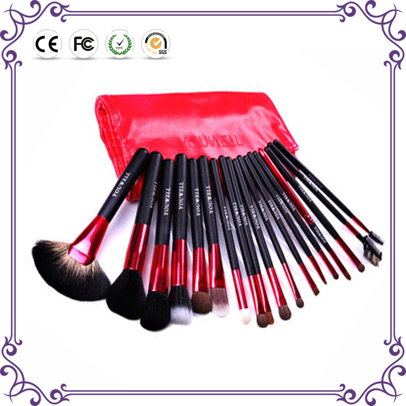 Factory supply fashion product professional private label cosmetic makeup brush set