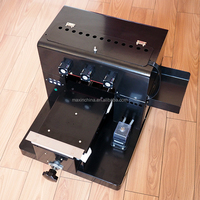 MAX economic A4 semi automatic inkjet printer a4 uv printer for sale cheap A4 uv printer for start business
