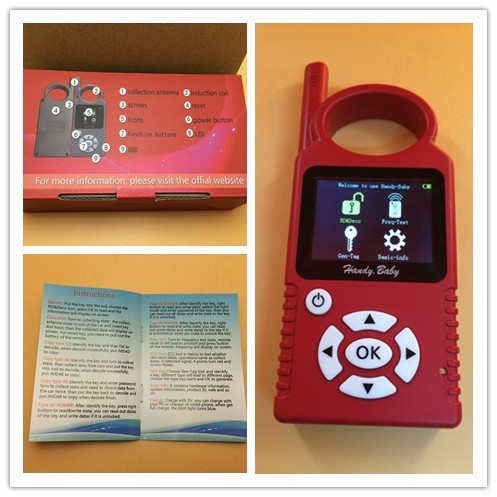 Hot sale products--Original JMD Handy Baby Key Programmer With G Chip