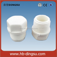 pvc pipes list 2 inch pvc pipe plug /plumbing fittings accessories