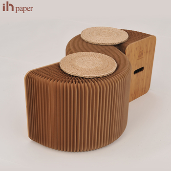 Fabulous Wholesale 3 Softeating Modern Design Ottoman Folding Paper Relaxing Foot Stool Sofa View Foot Stool Sofa Ihpaper Accordion Paper Sofa Product Ocoug Best Dining Table And Chair Ideas Images Ocougorg