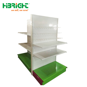 Display Supermarket Rack, Metal Shelf, Retail Shelving System