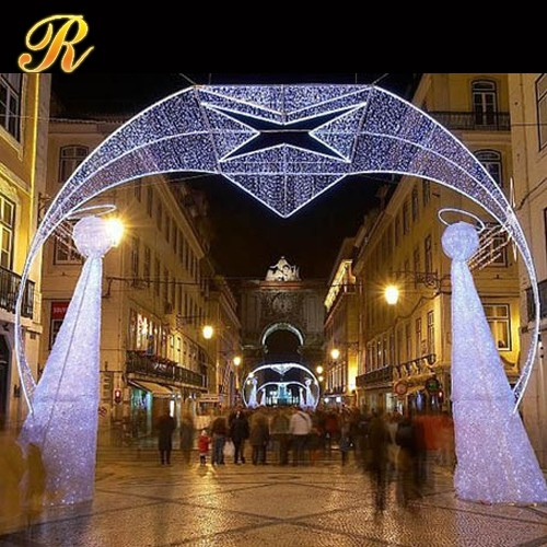 Cheap Price Of Christmas/wedding Outdoor Lighting Arch Led