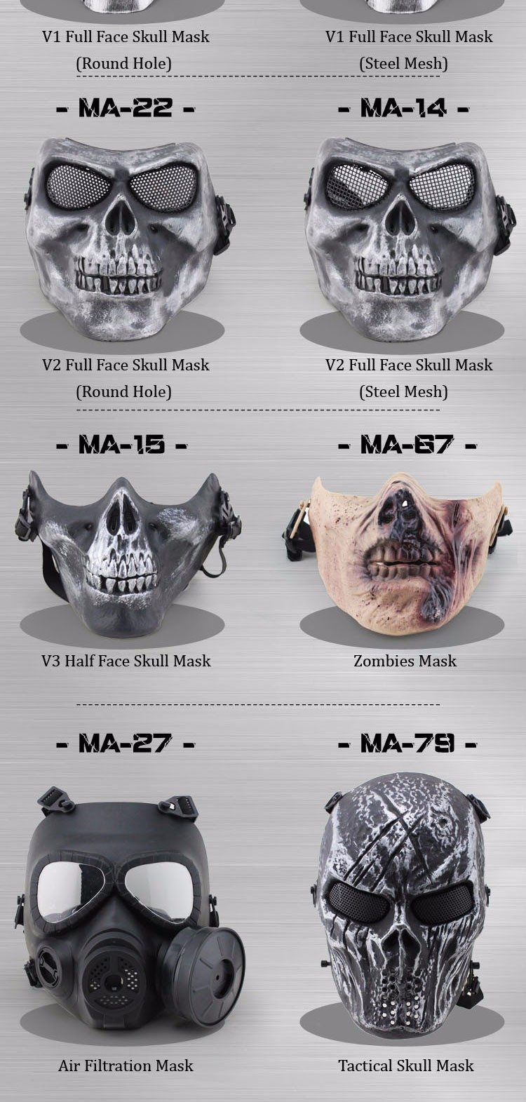 Wholesale Funny tactical CS protection party full face halloween ...
