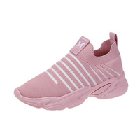 China Wholesale Zapatillas para Mujer Hot-selling Latest Design Ladies Knitted Sock Shoes