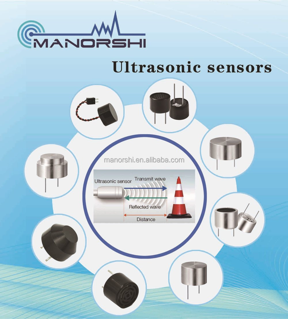 40kHz ultrasonic liquid level piezo sensor