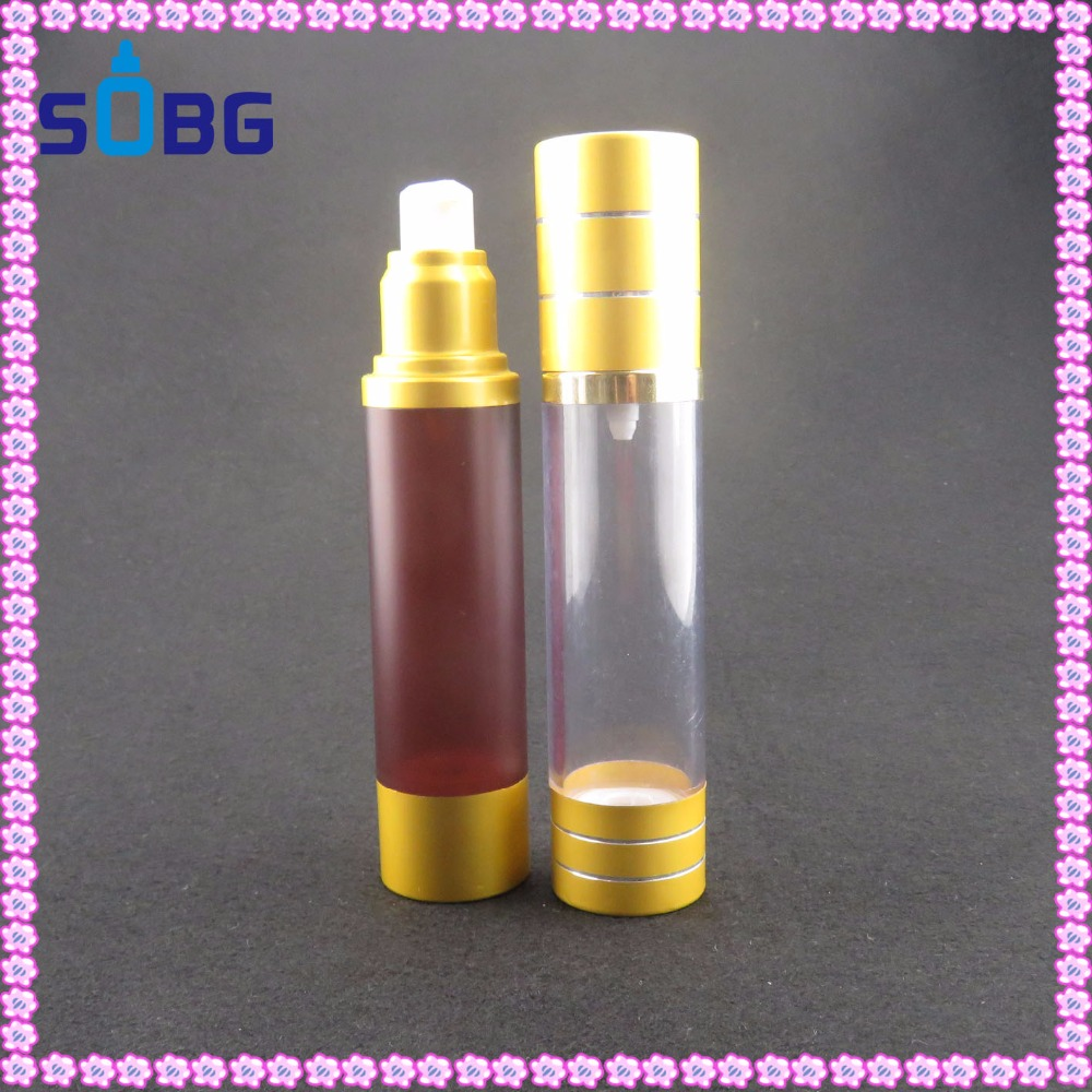 30ml 50ml 60ml 100ml plastic spray pump airless bottle cosmetic perfume bottle