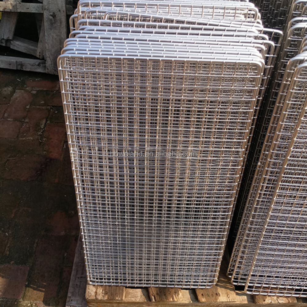 Hebei Weland Factory Stainless Steel Food Grade Wire Mesh 36cm BBQ Mesh Grille Material
