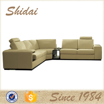Modern Leather Sofa For Superb Light Yellow 946