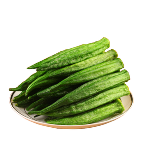 Good quality and price of dried okra chips