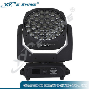 2017 hottest light 37x 15w 4in1 led moving head Beehive K20
