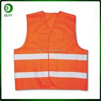 100% polyester High Viz Reflective Vest, Safety vest Fabric and Net Type