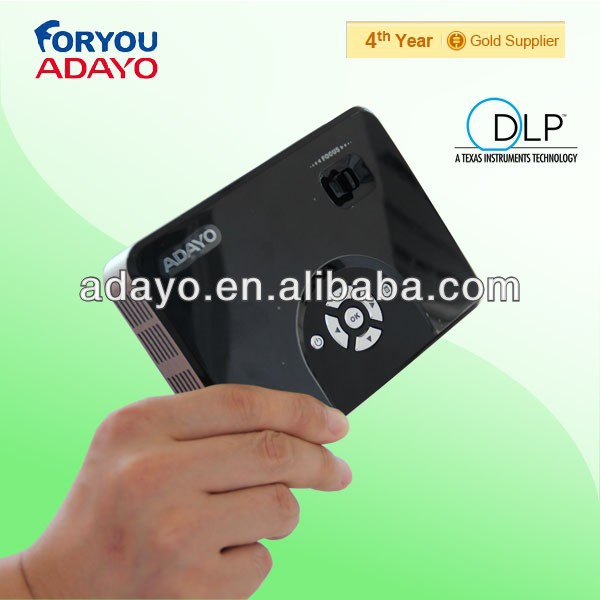300 lumens led dlp pico projector phone accessory