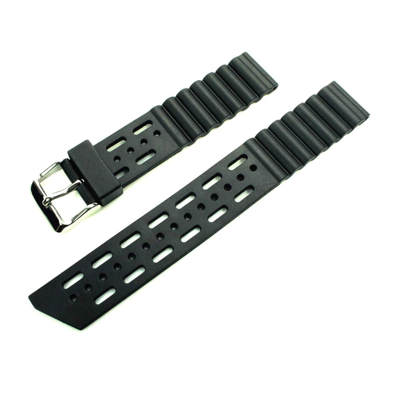 HDT Bonetto Cinturini Rubber Material Strap Model 282 [18mm]