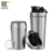 Strong Pop Lid 750ml Stainless Steel Wide Mouth Protein Shaker Bottle