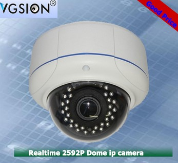 China Manufacturer SONY CMOS sensor Onvif P2P Full HD H.265 dome waterproof 5MP IP Camera with night