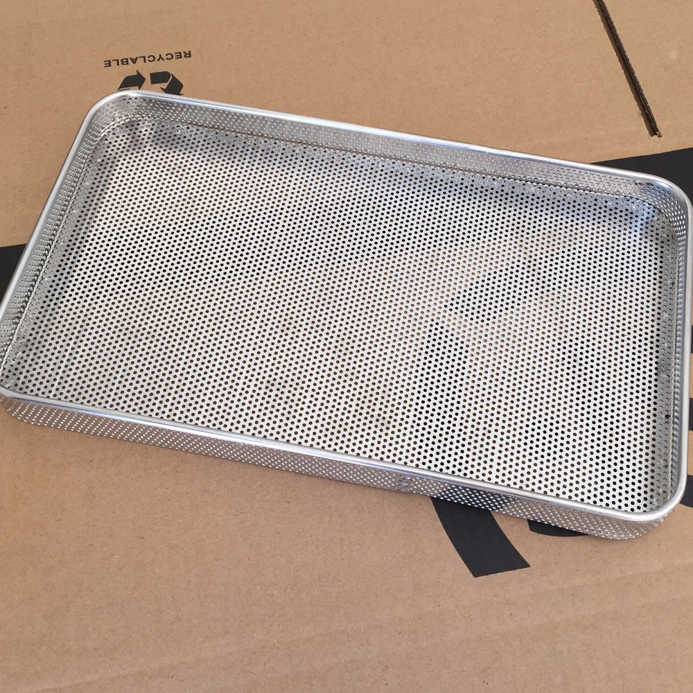 Stainless Steel Metal Perforated Flat Baking Tray Buy