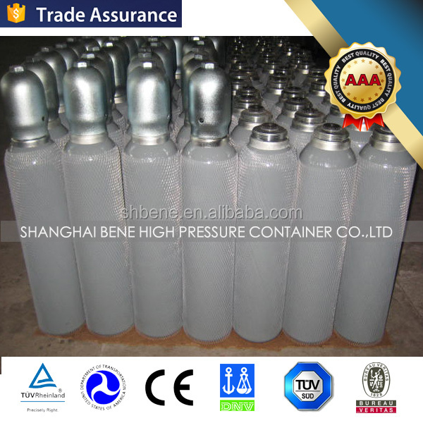 8L WP200bar TPED CE approval CO2 steel cylinder for Welding Argon gas cylinder Good Price