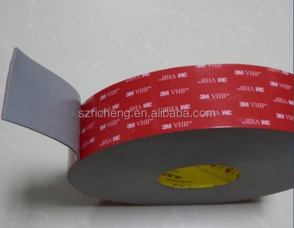 1x 200mmx100mmx2.3mm Grigio 3M VHB 4991 acrilico schiuma nastro biadesivo adheisve