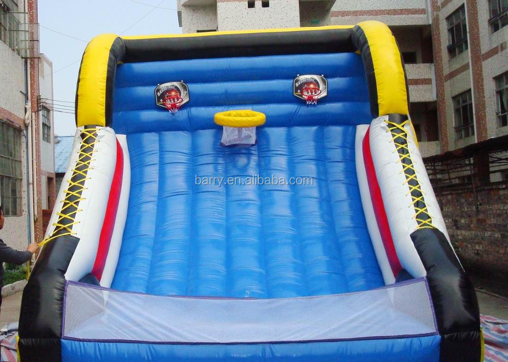 Customised inflatable basketball shooting toy,basketball shooting machine