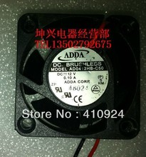 Used Free Shipping DC12V 0.10A Server Cooling Fan For ADDA AD0412HB-C50 Server Square Fan 2-wire