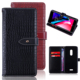 Magnetic PU Leather Flip Wallet Customized Mobile Cell Phone Accessory Protective Back Case for Alcatel A3 XL 9008D