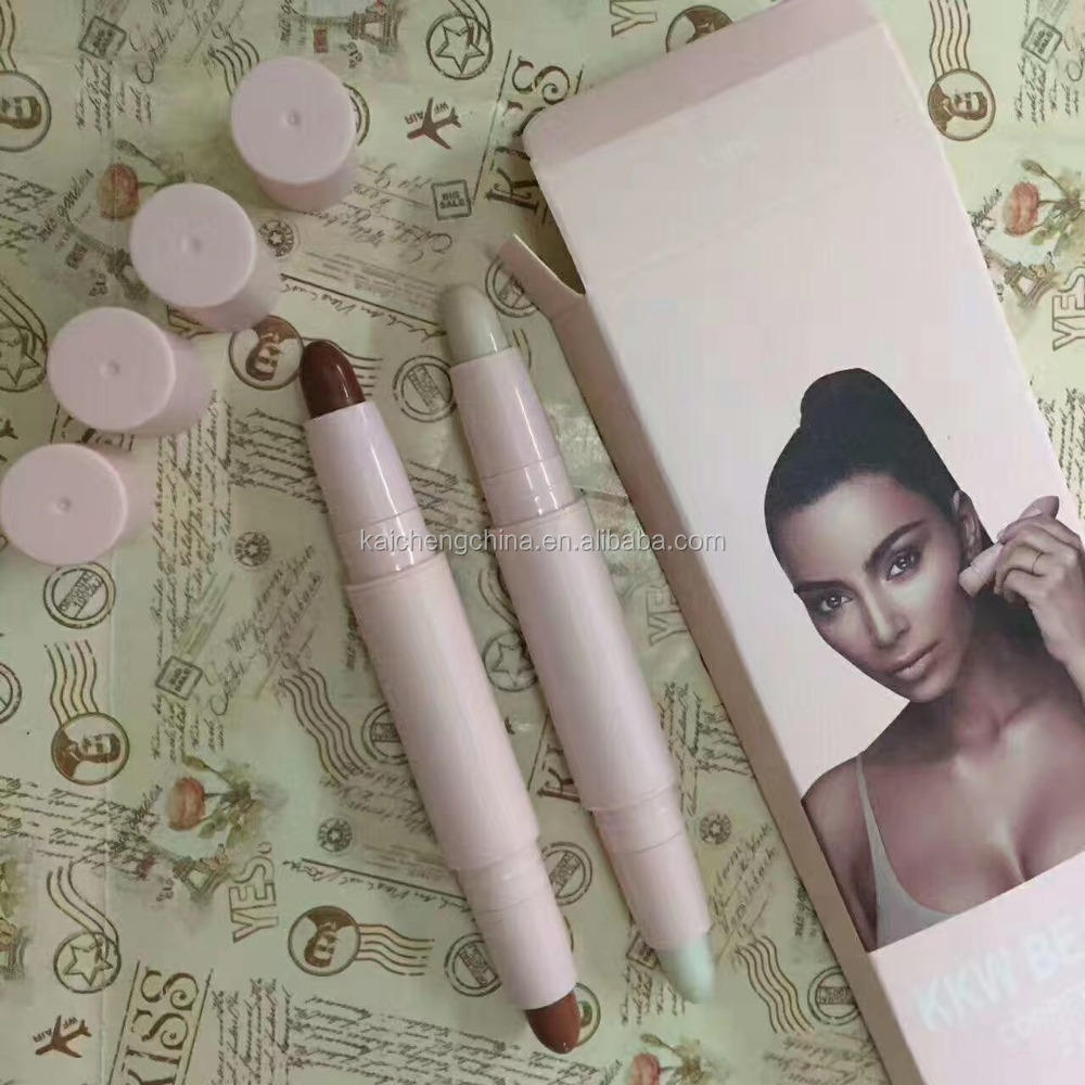 Online kylie xoxo kkw concealer stick 2 pieces in one set stick consealer kkw beauty cosmetic