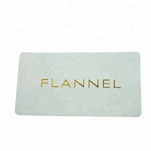 Luxury Customized Embossed Self Adhesive Sticker with Hot Stamping Logo