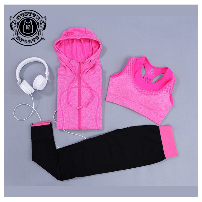 Women's Gym <strong>Sports</strong> Running Girls Slim Tops Women Yoga Sets