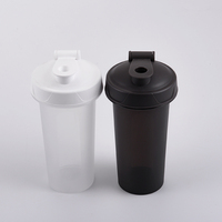 500ml Wholesale 17oz Custom Double Wall Insulated Metal Stainless Steel custom logo Protein Shaker Bottle