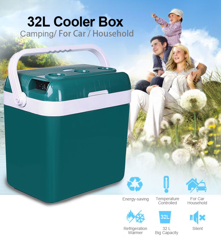 Wholesale 32L High Technology Outdoor Camping Car Cooler Box 12v