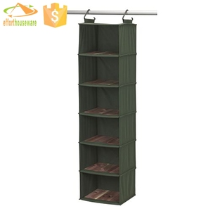 canvas wall hanging garden tool closet shelf organizer