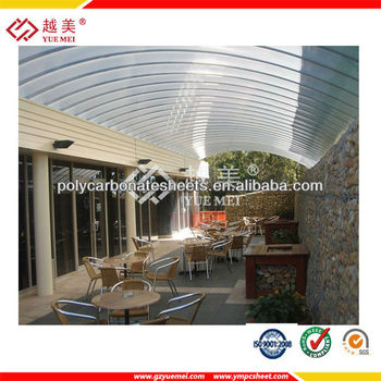 Lightweight Roofing Materials Roof Covering Plastic Garage