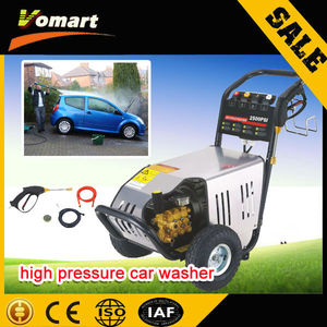 2014 CE 130Bar elctric high pressure car washing machine vapor+cleaning