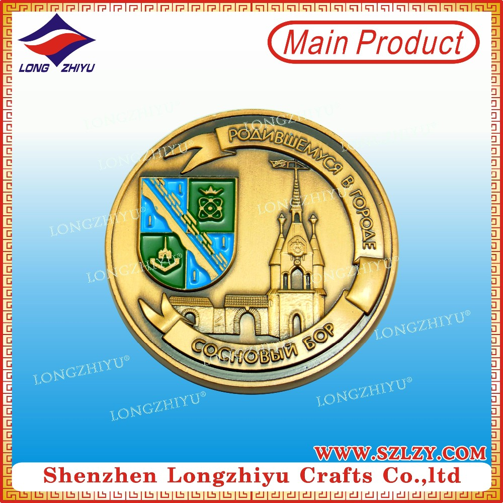 Cheap Wholesale Custom Challenge Coins Souvenir Use Buy
