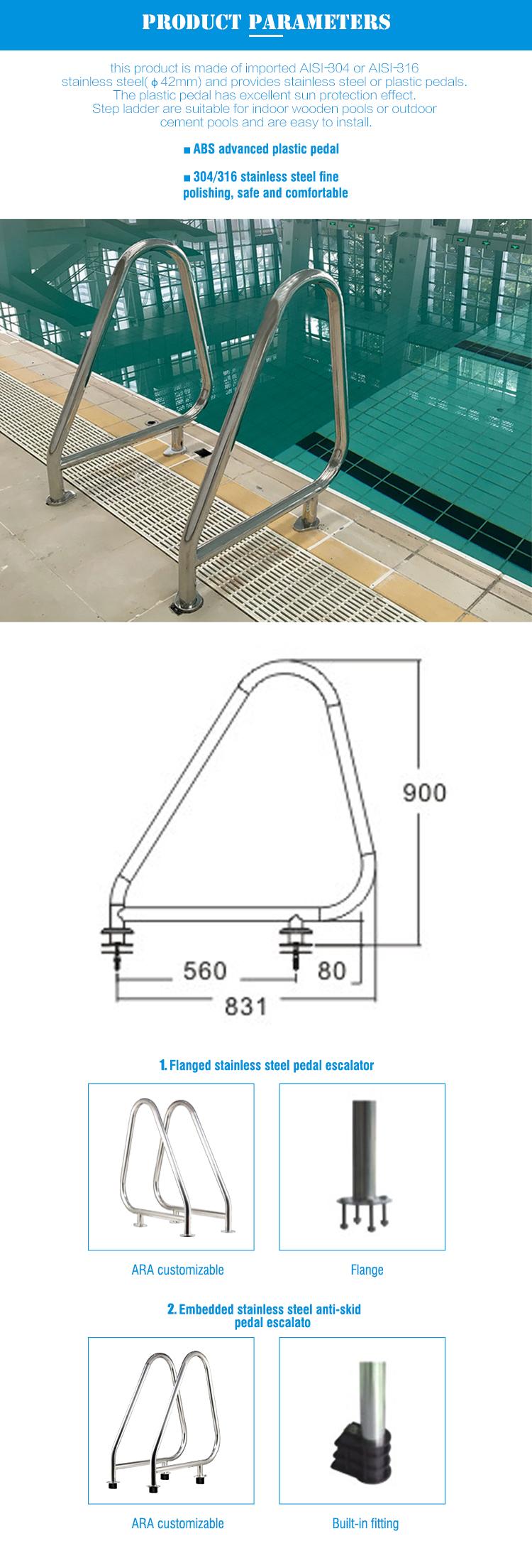 China Factory Made Swimming Pool Handrail
