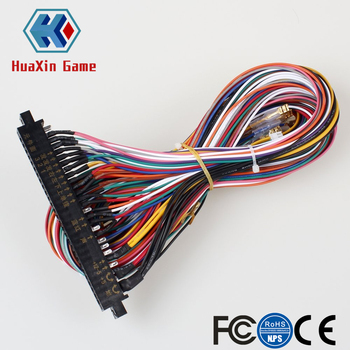 Arcade JAMMA 56 Pin Interface Kast Draad Kabelboom PCB kabel Voor Arcade Game Consoles Jamma 60-in-1 board & Pandora doos