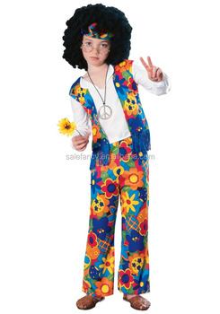 Kids Flower Child Costume Simple Cosplay Halloween Party City