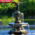 Outdoor Garden Large Bronze Fountain with Lady Angel Statue