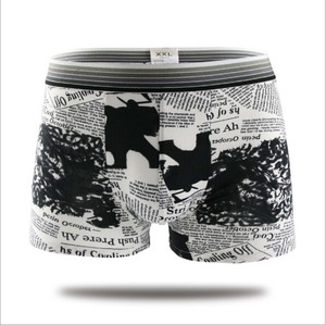 Factory Bulk Custom Man's Boxer Brief Underwear
